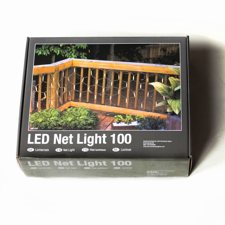 Professionele Netverlichting  LED warm wit .100 lampjes  per stuk/ piece