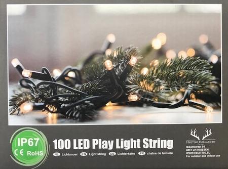 Professionele Stringlights LED .100 lampjes- 10 meter  per stuk/ piece