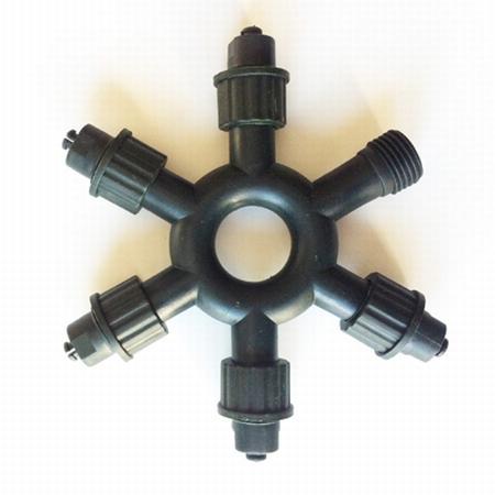 6 connector voor  t.b.v. 400 professionele serie LED  per stuk/ piece
