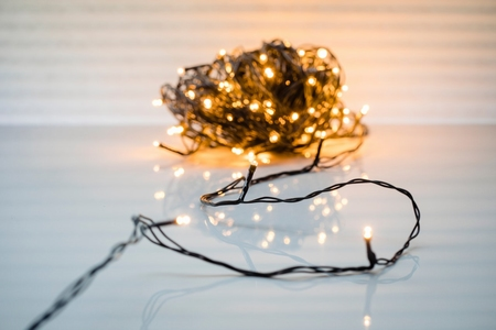 Stringlights LED 100 lamps 8 meter Koppelbaar . IP 44  per stuk/ piece