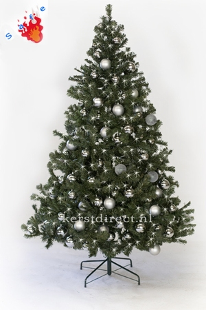Kunstkerstboom Scandianavie Narvik  210 cm Zilver prelight