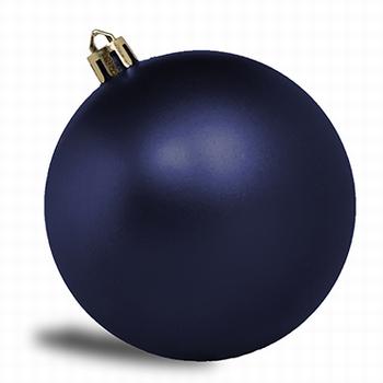 Donker blauw - 8 cm mat. 160 stuks  Per omdoos