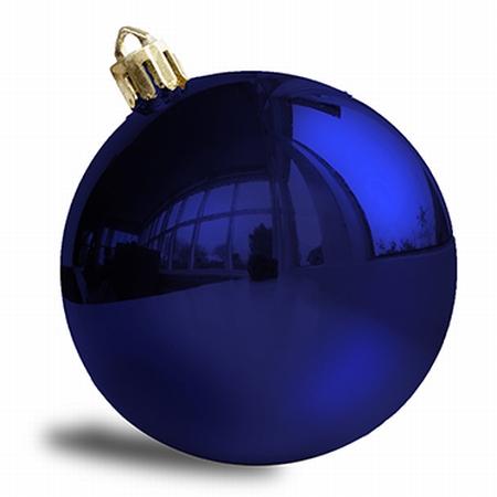 Donker blauw - 10 cm Glans . 96 stuks  Per omdoos