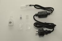 Aansluitsnoer voor LED lichtslang per stuk/ piece