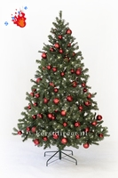 Kunstkerstboom Scandianavie Narvik  210 cm - Rood prelight