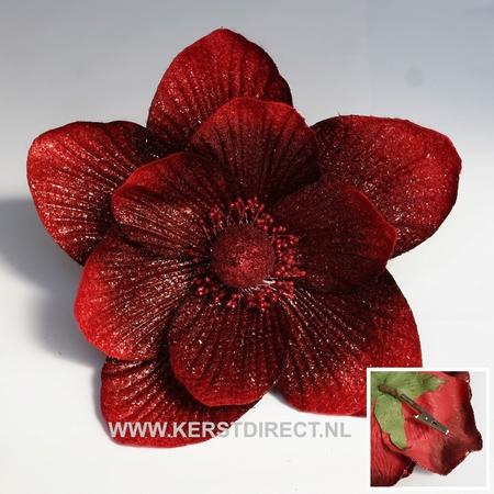 Fleur Noel Magnolia Rouge