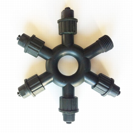 6 connector voor  t.b.v. 400 professionele serie LED