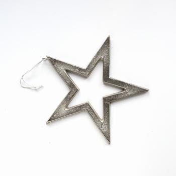 Metalen ster 16 cm