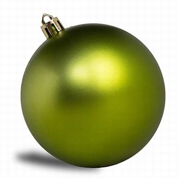 Lime groen - 160 st. 8 cm mat.  Per omdoos