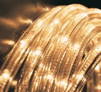 Slangverlichting LED Warm wit. 45 meter. per stuk/ piece