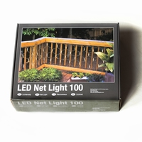 Professionele Netverlichting  LED warm wit .100 lampjes per stuk/ piece