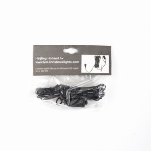6 stuks  - 5 meter Verlengsnoer 450 serie LED PVC kabel Per omdoos