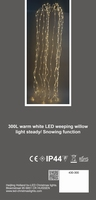 Waterval LED verlichting 300 Led incl. Trafo - binnengebruik per stuk