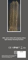 Waterval LED verlichting 300 Led incl. Trafo - binnengebruik